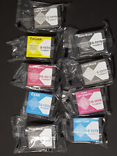 Full Set of 9 Compatible Inkjet replacement for Epson Stylus Photo R3000 Printer