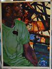 Shepard Fairey OBEY Giant Print & Street Artist Justin Projekt Rowley Oil Paint