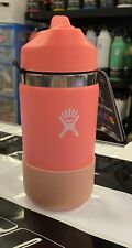NWT Hydro Flask Kids 12oz Hibiscus Water Bottle!!!