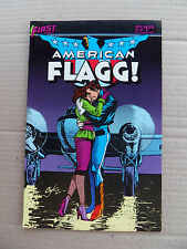 American Flagg ! 26 . Alan Moore - First 1985 - VF
