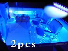 2pcs Marine Led Light Courtesy & Utility Strip for Boats 12 Volts Blue