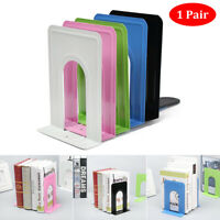Anti-skid Bookends Simple Life Portable Metal Book Stand Shelf Holder
