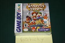 Harvest Moon GBC (Nintendo Game Boy Color) NEW SEALED H-SEAM, RARE