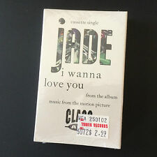 Rare 1992 Jade Cassette Tape Single - I Wanna Love You - From The Album - New