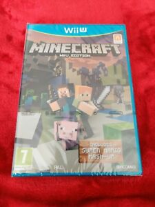 MINECRAFT WII U EDITION BRAND NEW FACTORY SEALED RARE UK RELEASE
