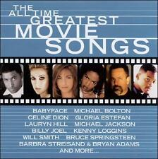 The  All Time Greatest Movie Songs by Various Artists (CD, Epic)