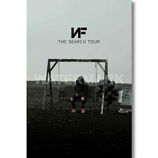 NF The Search Tour Custom Silk Poster Wall Decor