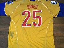 2009 2010 Chester City FC Jones Match Worn Football Shirt Maglia Camiseta