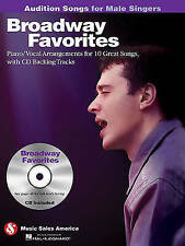 Broadway Favorites - Audition Songs for Male Singers: Piano/Vocal/Guitar Arrange