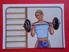 figurines prentjes cromos stickers picture cards figurine barbie 71 panini 1983