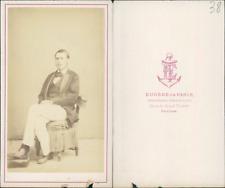 Eugène de Paris, Toulon, marin, Bienaimé CDV, vintage albumen carte de visite