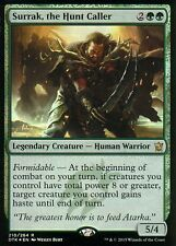 Surrak, the Hunt del servizio CRBT FOIL | NM | Dragons of Tarkir | Magic MTG