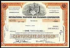Common Stock. International Telephone & Telegraph Corp. Aug. 3,1976.