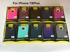 Para iPhone 7 8 Plus W Funda Plus (clip de cinturón se ajusta Otterbox Defender Series)