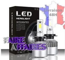Kit 2 ampoules LED H7 100w 6000k blanc pur / phare lampe feux de route NEUF