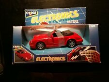 Red 1991 Corgi Electronics Metal 1:24 Porsche 911 Car New In Package