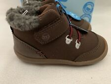 Stride Rite Chandler brown boot Toddler Boy Shoes US size 5M, 6M