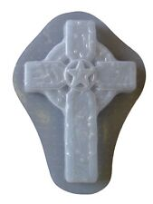 Decorative Western Star Cross Plaque Plaster or Concrete Mold 7217 Moldcreations
