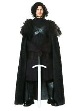 ADULT GAME OF THRONES DARK NORTHERN KING JON SNOW COSTUME SIZE M (with defect)