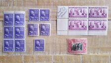 Set of #807 Thomas Jefferson & #651 & #856 2 & 3 Cent Us Stamp Misc. Collection