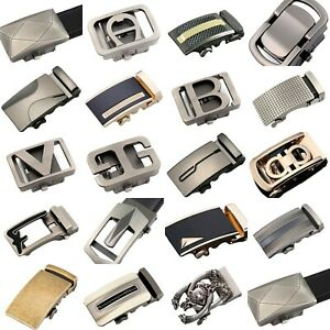 Mens Automatic Belt Buckle For 35mm Wide Ratchet Belts Gift Q98A