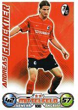 100 Andreas Glockner - SC Freiburg - TOPPS Match Attax 2009/2010