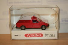 Wiking 060123, VW Caddy 1, Feuerwehr, neu, OVP