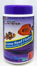Tropical Fish Food Ocean Nutrition Premium Prime Reef Flakes 5.5oz/154g