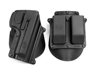 NEW Fobus BR2 Handgun Paddle Holster & Mag Pouch - Beretta 92/96 Taurus 92/99