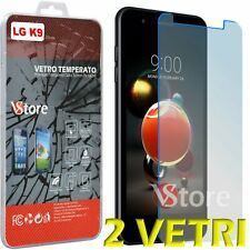 """2Pezzi Film Tempered Glass For LG K9 LMX210EMW Screen Protection LCD 5,0"""""""