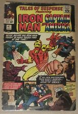 Tales of Suspense #67 Gd 2.0.Iron Man/Captain America.Jack Kirby cover & art