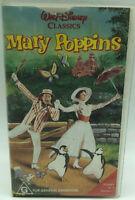 Walt Disney Classics - Mary Poppins -  VHS PAL Video - Free Shipping