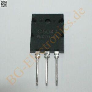 1 x 2SC5047 NPN Power Transistor 250W 800V 25A  PMC TO-3P 1pcs