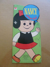 VINTAGE 1971 NM NANCY COMIC STRIP CHARACTER PAPER DOLLS WESTERN PUBLISHING CO.
