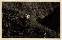 Schwarzatal Thüringen ~1920/30 Partie Blick auf Eberstein Ruine Burg ungelaufen