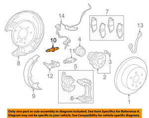 TOYOTA OEM Brake-Rear-Park Brake Shoes Adjuster Right 4740532010