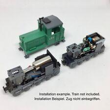 Roco H0e Feldbahn Diesellokomotive 12V Glockenanker Umbausatz für 33209 usw