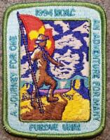 1994 NOAC Pocket Patch - An Adventure For Many A Journey For One - BSA/OA