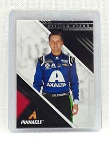 William Byron 2021 Panini Chronicles Pinnacle - NASCAR Auto Racing - #7