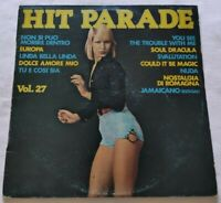 HIT PARADE VOL 27 LP VARIOUS 33 GIRI VINYL ITALY 1976 JOKER SM3820 EX/NM