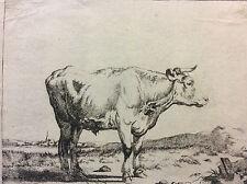 Dans le goût de Adriaen van de Velde (1636–1672) gravure XVIIe