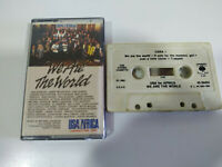 We Are The World USA For Africa Michael Jackson 1985 - Cinta Cassette - 2T
