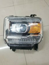 2016 2017 2018 GMC SIERRA 1500 2500 3500 Driver LEFT HEADLIGHT  OEM  (76)