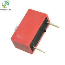 20Pcs Slide Type Switch Module 1-Bit 2.54mm 1 Position Way DIP Red Pitch NEW