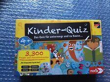 Kinder Quiz für Unterwegs und zu Hause ab 4+ Jahre