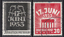 Berlin 1953 Mi. Nr. 110-111 Gestempelt !!! (13727)