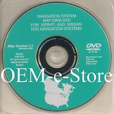 2006 2007 2008 Infiniti FX Model FX35 FX45 Navigation DVD Map U.S Canada