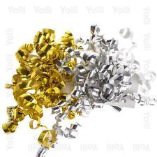frisé noeuds X2 (argenté et doré) décoration cadeaux