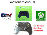 New Black Microsoft Wireless Game Controller for Xbox One / One S & Windows 10