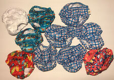 Lot of 10 Reusable Swim Diapers Bottoms. Size Large/18M